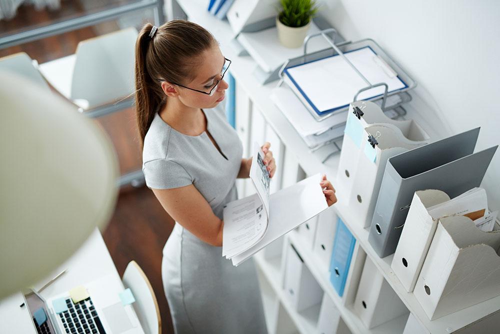 hilfe bei privaten papierkram